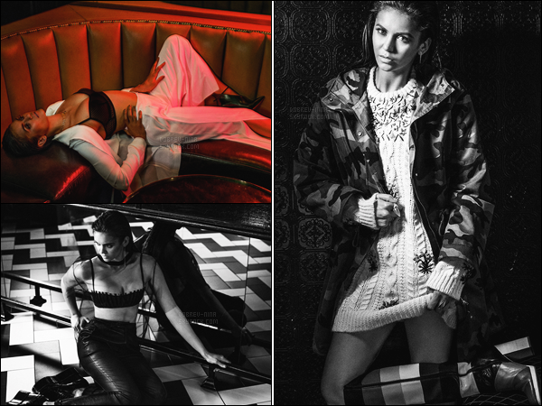 ● Découvrez le nouveau photoshoot avec Nina Dobrev pour « Interview Magazine ». Les photos sont vraiment très réussis et notre Nina est sublime dessus. Je n'ai rien à redire sur ce photoshoot - Donne ton avis par commentaire ...