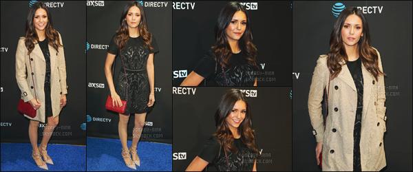 06/02/2016 : Nina Dobrev était présente à l'évènement « DirecTV Super Saturday Night » - à San Francisco. J'aime vraiment beaucoup comment Nina était habillée. Elle était avec ses meilleures amies Julianne Hough et Riawna Capri. Donnez votre avis