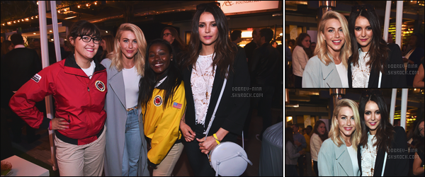 07/05/16 : La belle Nina D. s'est rendu à l'évènement « City Year Los Angeles Spring Break »  à Los Angeles. Nina y était avec sa super copine, l'actrice Julianne Hough, ça faisant longtemps qu'on ne les avaient pas vu ensemble. Elles sont très belles. TOP !