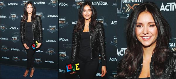 03/09/16 : Nina Dobrev était présente à « The Ultimate Fan Experience, Call Of Duty XP 2016 » à Inglewood. Nina était belle hier soir - Je suis tellement contente de la revoir à un évènement - C'est un top ou un flop pour la tenue de Nina ? Laisse ton avis !!