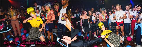 29/10/16: Pour Halloween, Nina Dobrev s'est rendue à la fête « Channel 2016 Rio Olympics » à Hollywood. Puis plus tard dans la soirée la belle s'est également rendue à la soirée d'anniversaire de Katy Perry sur le thème d'Halloween. TOP/FLOP ?