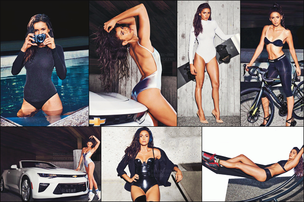─ Découvrez le nouveau photoshoot très sexy de notre Nina pour le magazine « Men's Health » !