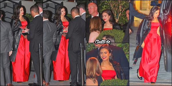 08/01/17: Nina D. s'est rendue à l'After Party des « 74eme Golden Globes » organisée par InStyle et Warner Bros. Nina opte pour un look glamour. Personnellement je n'aime pas du tout la robe et j'adhère pas à la coiffure. Je l'a trouve quand même belle. Bof !