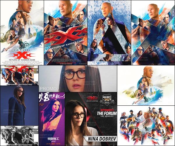─ Découvrez des nouvelles vidéos et photos promotionnelles pour « xXx: TROXC » !