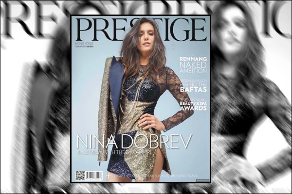 ─ Découvrez le tout nouveau photoshoot de notre sublime Nina pour le magazine « Prestige » !
