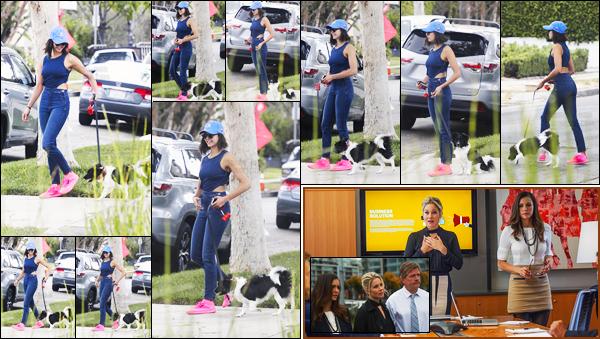 15/08/17 ─ C'est une Nina Dobrev très souriante que nous retrouvant avec sa chienne Maverick se promenant à LA. Je sais pas se que vous en pensez mais personnellement j'aime beaucoup la tenue, top ! Découvrez également 2 stills provenant du film Crash Pad.