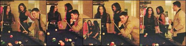 15/07/17 ─ Nina D. s'est rendue à la soirée organisée par Demi Lovato, « SNS Party » qui se déroulait à Las Vegas. Cette soirée mettait en avant le nouveau single de Demi. Nina était accompagnée de Glen Powell et ont notamment passés la soirée avec Nick J.
