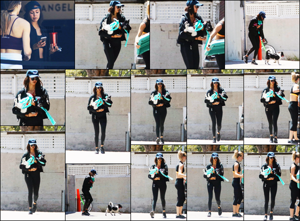 18/07/17 ─ Nina Dobrev a été repéré alors qu'elle quittait son cours de gym avec sa petite chienne Maverick, LA. J'adore les sorties de Nina et Maverick, c'est toujours un plaisir de les voir toutes les deux. Pour une fois j'aime plutôt bien la tenue de sport - top !