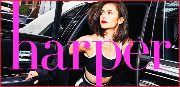 . Découvrez les photos de Nina pour Harper's Bazaar, numéro de Septembre !  .