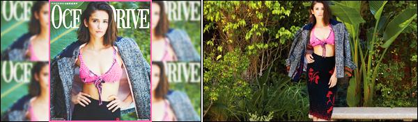 . Découvrez la couverture ainsi que le photoshoot de Nina pour Ocean Drive !  .