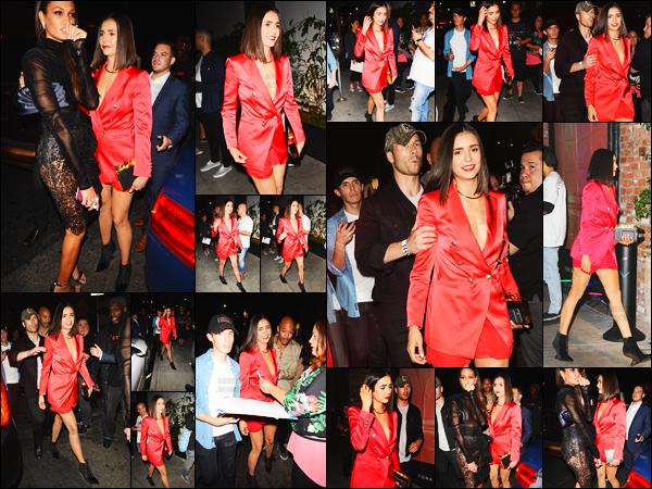 30/08/17 ─ Nina Dobrev s'est rendue aux after-party des « Video Music Awards » qui se déroulait à Los Angeles. Malheureusement l'actrice ne s'est pas rendue à la cérémonie mais uniquement aux after-party qui avait lieu dans la suite de la soirée. Un ptit top !