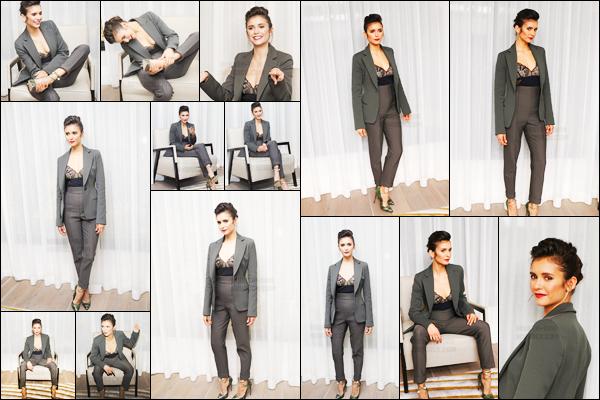 21/09/17 ─ Nina Dobrev s'est rendue à une conférence de presse pour la sortie de « Flatliners » dans New York. Pour rappel la sortie du film est prévue pour le 22 Novembre prochain. Nina est resplendissante dans cette magnifique tenue, c'est un gros top !