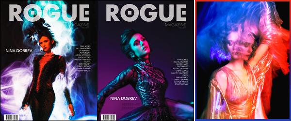 . Découvrez les deux couvertures de Nina pour Rogue Magazine et un cliché !  .