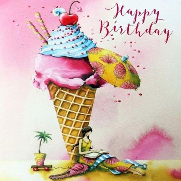 Bon anniversaire au mari de mon amie Nadine , j'espère que malgré le confinement il aura été bien gâté