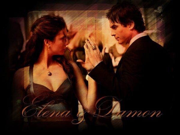 Damon Va t'il réussir a dissimuler ses sentiments a la belle Elena ?