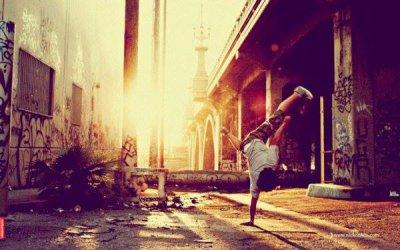 Danser c'est être en concurrence avec sois-même.