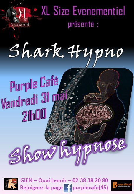 1er Show Officiel de SHARK HYPNO