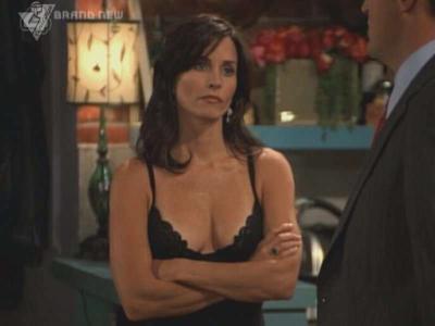 Monica geller naked