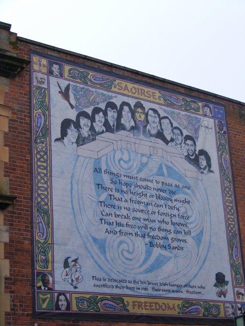 Mural catholique achou en irlande for Mural irlande