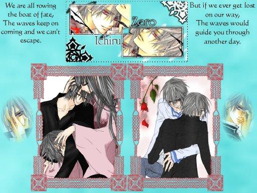 Zero et Ichiru Kiryu : le lien des jumeaux !!