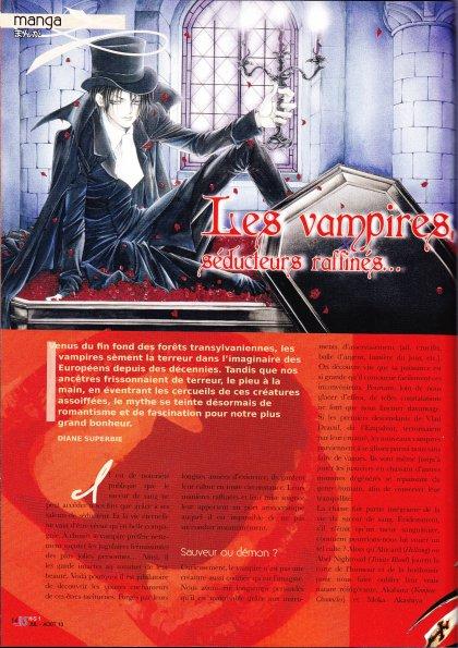 Les Vampires,séducteurs raffinés...