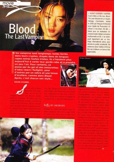 Blood :the Last Vampire