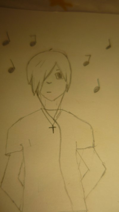 mon dessin d'un emo