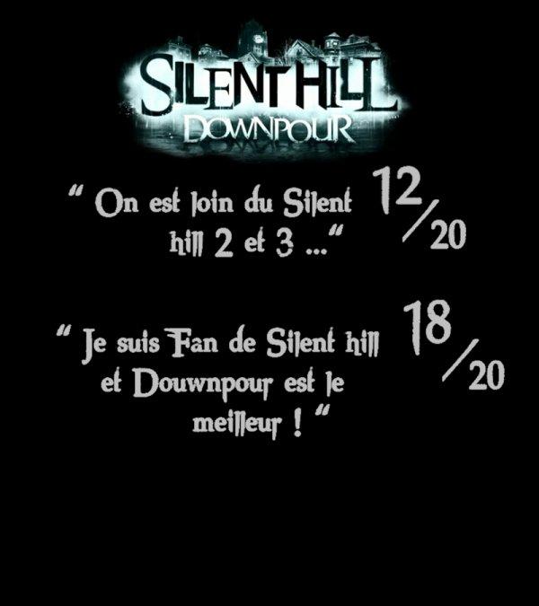 Silent hill: Downpour - L'avis des Fans