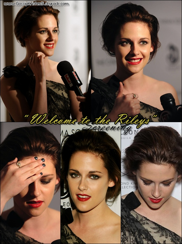 "18.10.10 Première du film ""Welcome to the Rileys"""