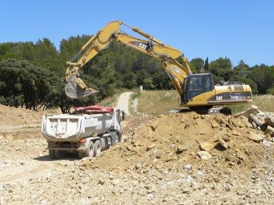 Terrassement bassin blog de chantier et engin tp - Terrassement bassin d arcachon tourcoing ...