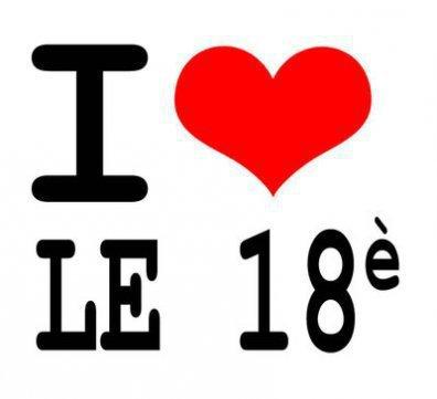 i love le 18 eme <3