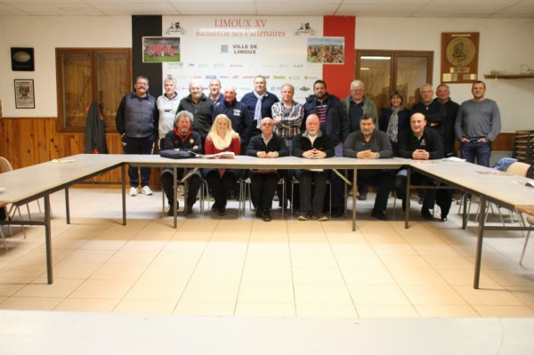 Réunion de secteur à  Limoux  le 15 mars 2016