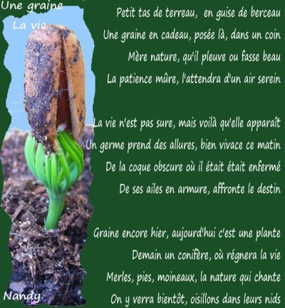 Poème sur la Nature