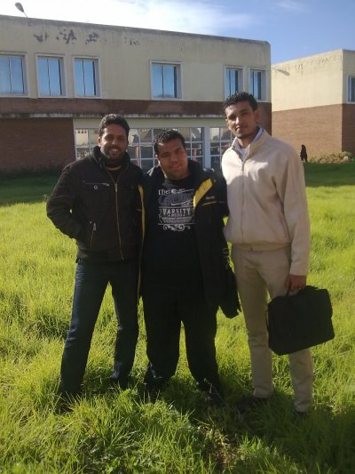 Abdi & Fayssal & Me