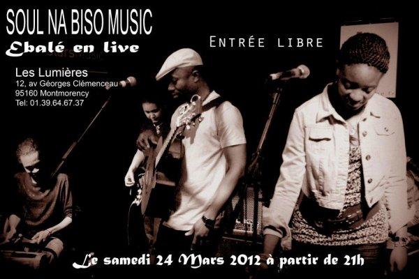 Ebalé et le Soul Na Biso en concert!!