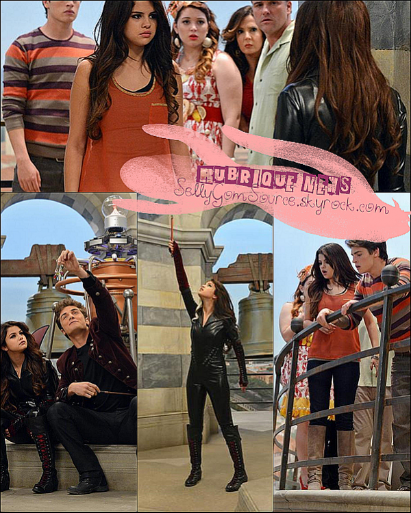 Selena Gomez à tweeter plusieurs photos des sorciers de Waverly place le Film Alex vs Alex, le tournage est terminer depuis le 10 novembre 2012 mais la date de la diffusion en France n'est à ce jour pas encore connue.