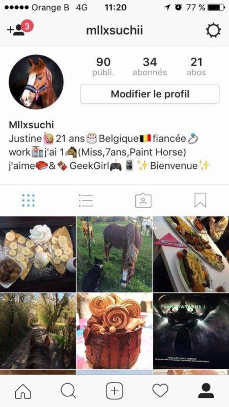 Suivez moi sur instagram ;-)