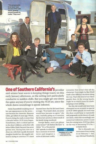 Tv Guide janvier 2012