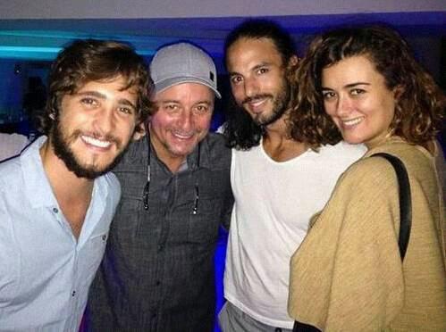 Cote a Malte avec le directeur et les comédiens de The Dovekeepers