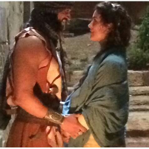 Cote photo tournage The Dovekeepers