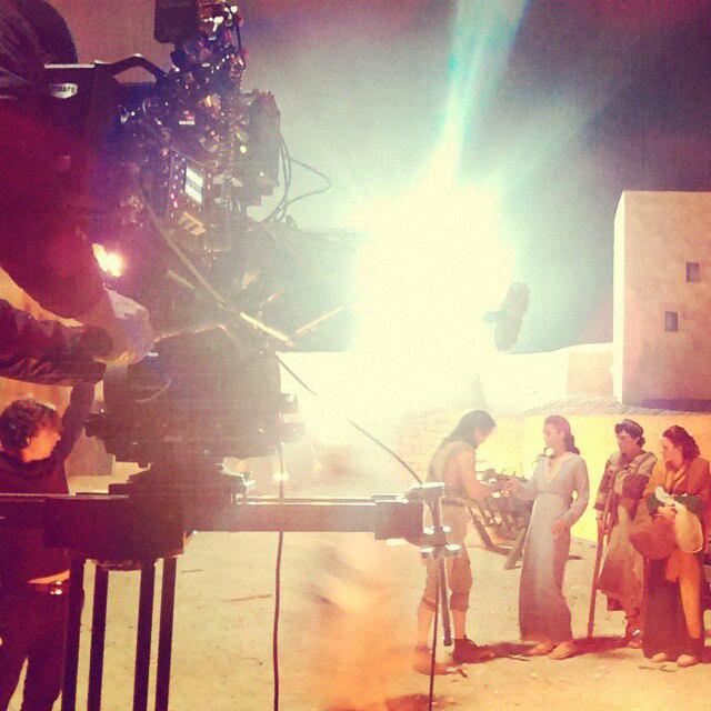 Cote sur le tournage