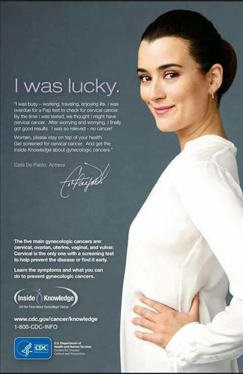 Affiche de Cote contre le cancer