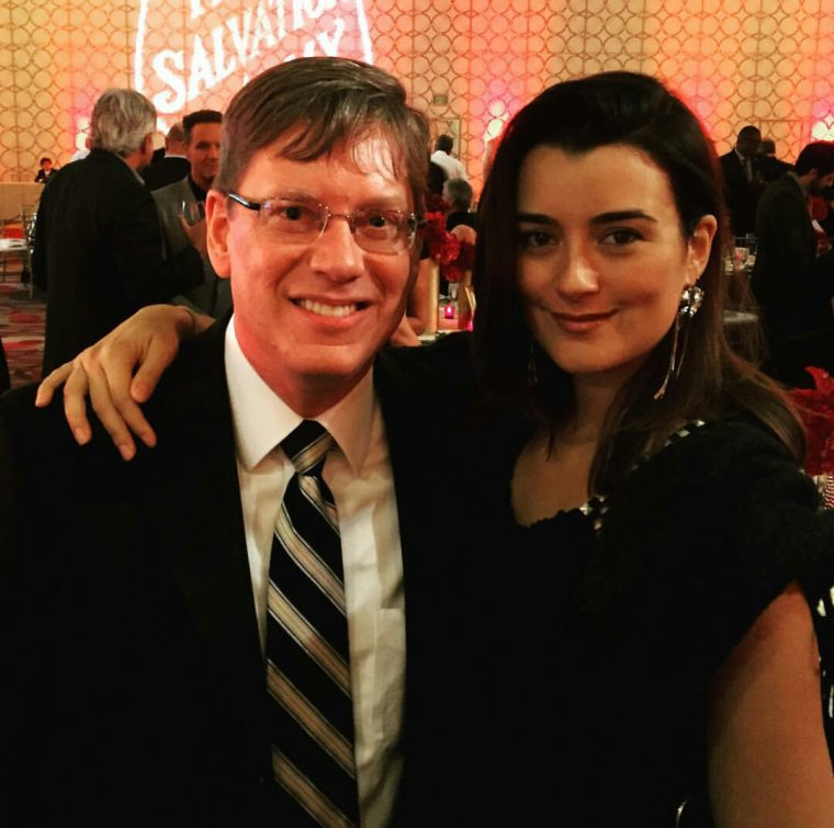 Cote at the salvation army sally awards
