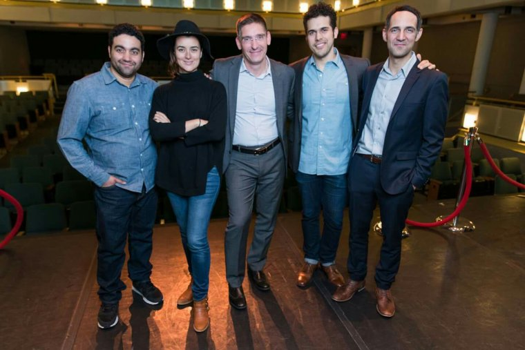 VIP Reception photos from our Theatre in the Rough reading of Ariel Dorfman's