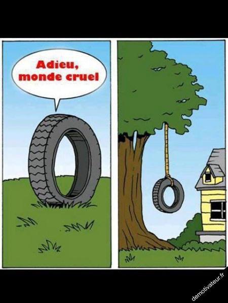 Le pneu de mark