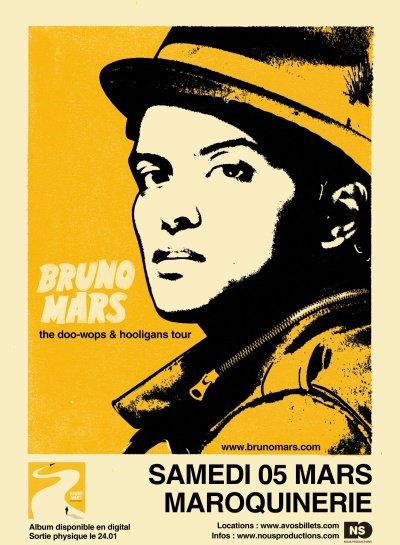 Bruno Mars en concert en FRANCE!