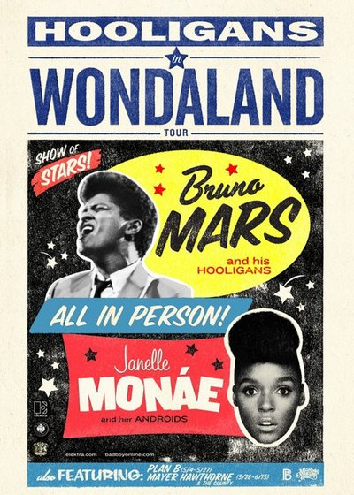 "Bruno & Janelle "" Hooligans in Wondaland tour """