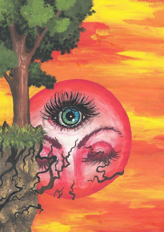 Au delàs des yeux physiques. L'oeil de l'âme.