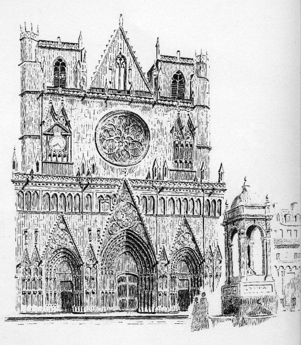 cathédrale saint jean de Lyon
