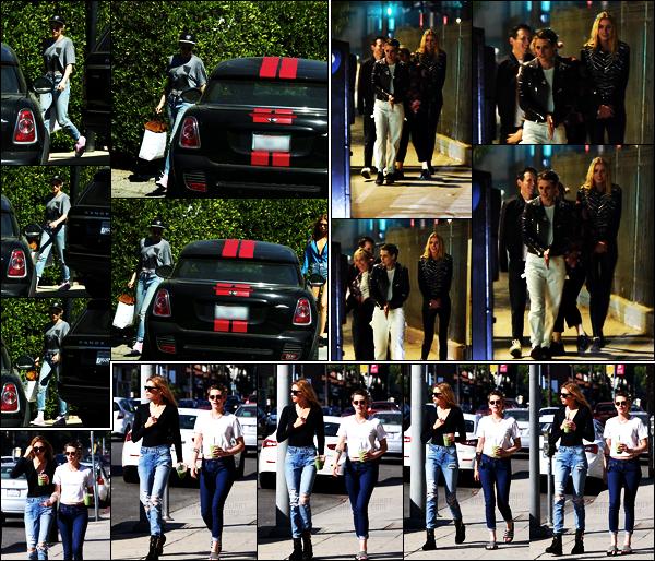 . 14.10.17 - Kristen Stewart a été repérée en compagnie de sa girlfriend - Stella Maxwell, en balade dansMelrose Place ! La veuille Kristen, Stella et des amies ont été vus de nuit dans Silverlake puis le 06/10 toujours avec Stella Maxwell dans Los Angeles. Bofs .